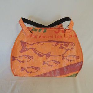 Torrain feed bag purse New